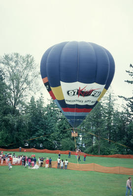Hot air balloon at the Centennial Commission's Canada Day celebrations