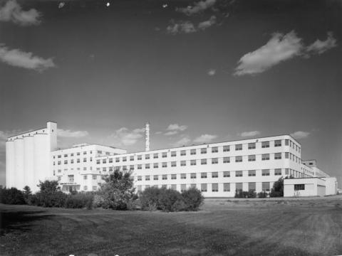 Photograph Of Taber Factory 1950