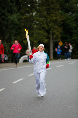 Day 098, torchbearer no. 016, Brittany S - Madeira Park