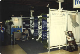 Capilano College display booth