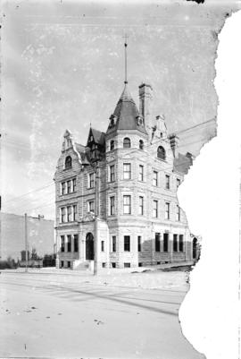[Bank of Montreal building, corner of Granville and Dunsmuir Streets]