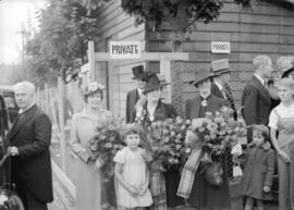 Canadian Pacific Exhibition [women from party of officials]