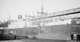M.S. London Importer [at dock]