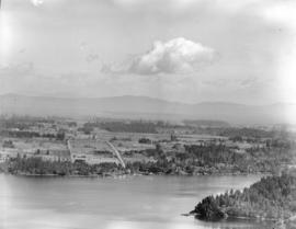 [View of] Brentwood and Inlet from Malahat, Vancouver Island