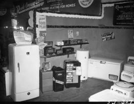 Revco display of freezers