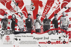www.hotgaydj.com : holiday pride Monday : August 2nd : J Lounge, 1216 Bute St.