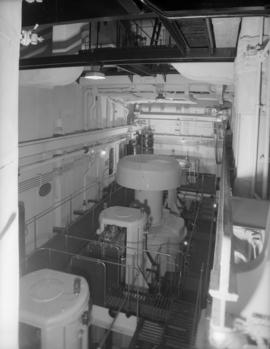 "Burrard Drydock Co., North Van. - interiors of C.N.R. freighter ""Canadian Construction"""