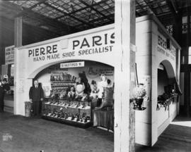 Pierre Paris display of footwear