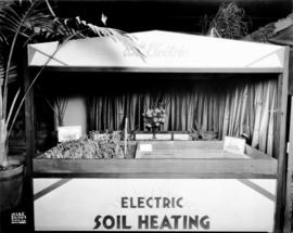 B.C. Electric display of electric soil heating
