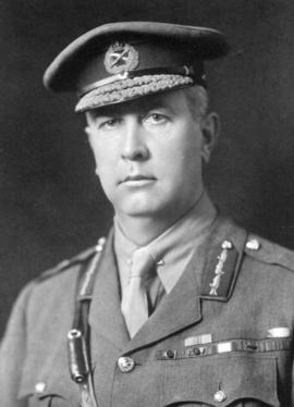 [Head and shoulders portrait of] General Sir Arthur Currie