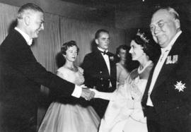 [Princess Margaret at a function during her visit to Vancouver]