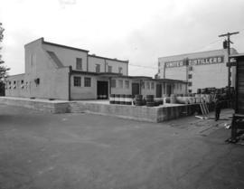 United Distillers Limited [exterior of plant at 8900 Shaughnessy Street]
