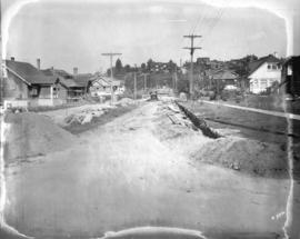 [View of West 35th Avenue at Yew Street]