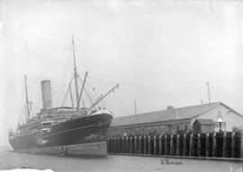 "[Steamship] The ""Zealandia"" [at C.P.R. Pier 'A']"