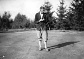 Golfer at tournament at Shaughnessy Golf Club