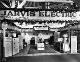 Jarvis Electric Co. display of Kelvinator refrigerators