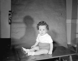 [Portrait of] Dr. O'Neil['s]  child [in their] House #39, Ocean Falls