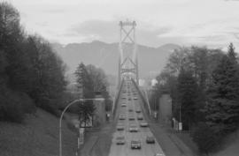 Lions Gate Bridge - south end