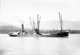 "S.S. ""Chilliwack"" [(II) approaching First Narrows]"