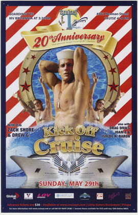 20th anniversary kick off cruise : Sunday, May 29th