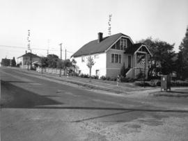 Slocan Street, west side, 4th to 5th Avenues - view southwest