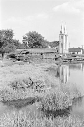 [St. Paul's Church and other buildings at The Mission]