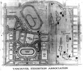 Vancouver Exhibition Association - [plan of] Hastings Park