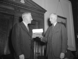 Canadian National Railway presentation to Mr. Howe