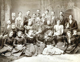 [Group portrait of Princess Street Methodist Church Choir]