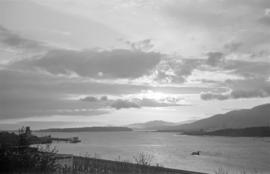 [View along Burrard Inlet]
