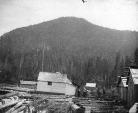 [Buildings in a logging camp]