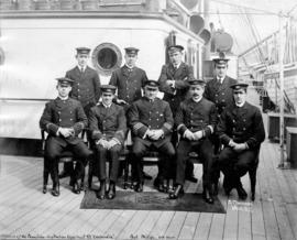 "[Officers of the Canadian-Australian Royal Mail S.S. ""Zealandia"""