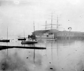 "[S.S. ""Defiance"" at Evans, Coleman and Evans dock]"
