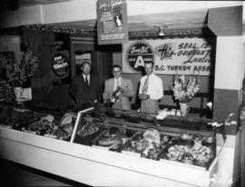 B.C. Turkey Association display of turkey meat products