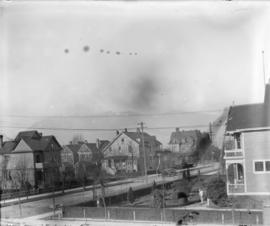 [View of West End houses]