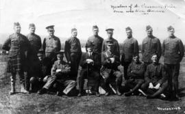 Members of the Vancouver Police Force who were overseas
