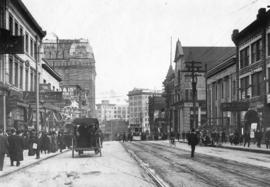 [West Hastings Street looking east from Homer Street]