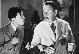 "S. Toler (as Charlie Chan) and V.S. Yung - ""Castle in the Desert"" 1942"