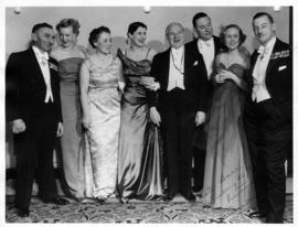 State Ball guests, group photo