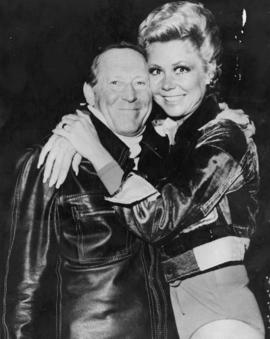 Hugh Pickett and Mitzi Gaynor
