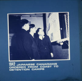 Japanese Canadians ordered from coast to detention camps
