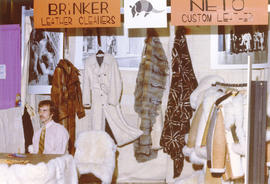Brinker Leather Cleaners - Neto Custom Leather display