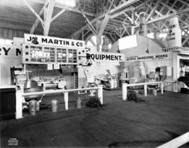 J. Martin and Co. display of bakery equipment