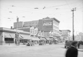[Granville Street looking north from Davie Street]