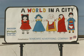Centennial Seaboard billboard sponsored by the Seaboard Advertising Company