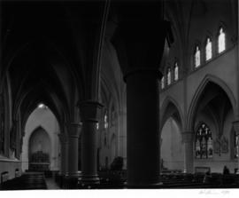 Holy Rosary Cathedral, 646 Richards Stret, aisle and nave