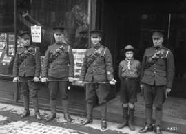 68th C.F.A. recruiting staff - Granville Street