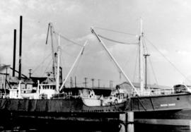 "[Northland Navigation Co.'s ""Pacific Prince"" at dock]"