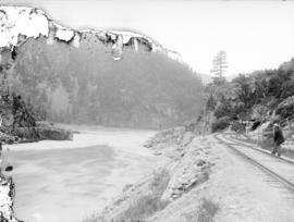 C.P.R. In the Fraser Canyon, one mile from Yale