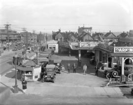 [Blackburn's Service Station and used car lot, 822 Seymour Street]